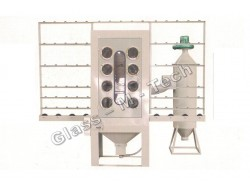 MHDB1000 P   Установка для пескоструйной обработки стекла