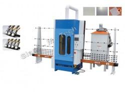 MHDB1000 P   Установка для пескоструйной обработки стекла  (управление PLC контроллером)