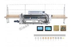 MBZXM11 Прямолинейный фацетный станок  (управление PLC контроллером)