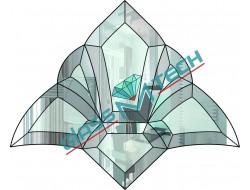 Фацетный элемент  DB 39