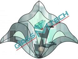 Фацетный элемент  DB 43